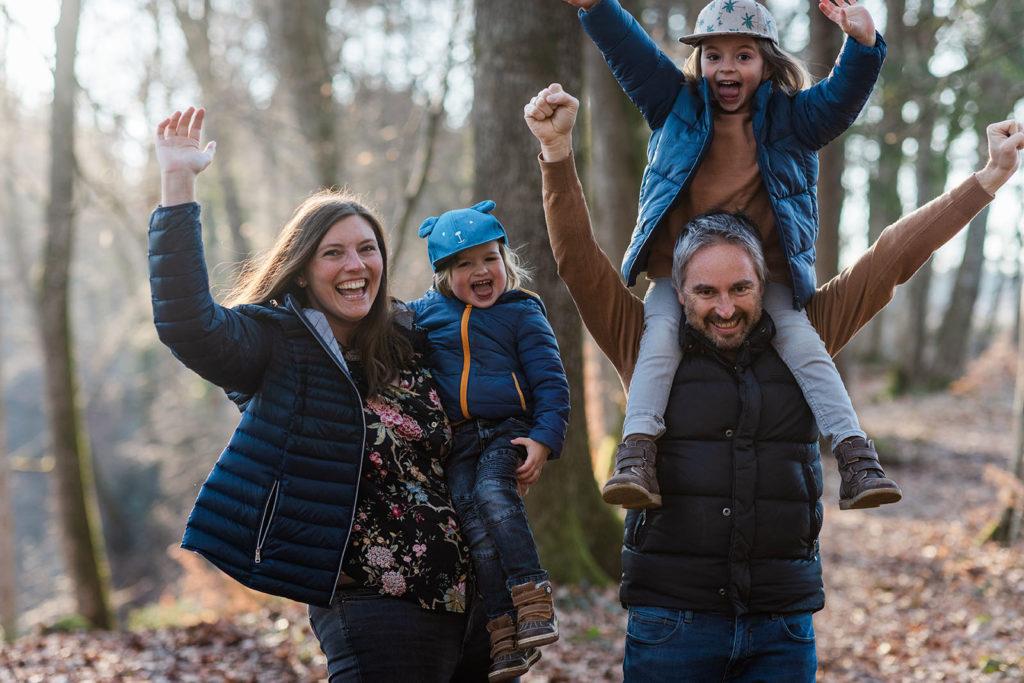 familie in der natur in ravensburg